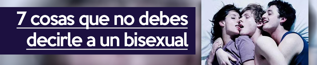 Es normal ser bisexual en la adolescencia